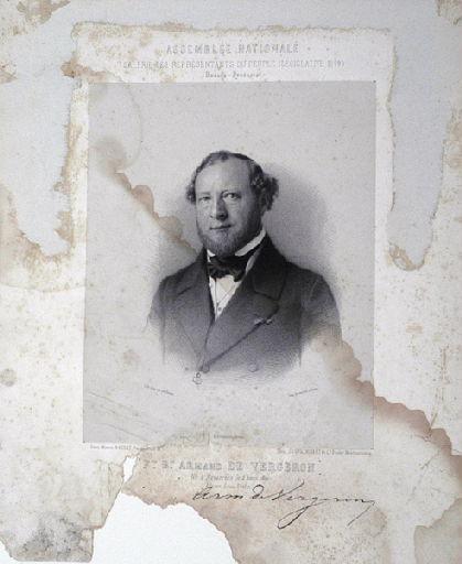 Portrait de François Bernard Armand de Vergeron_0