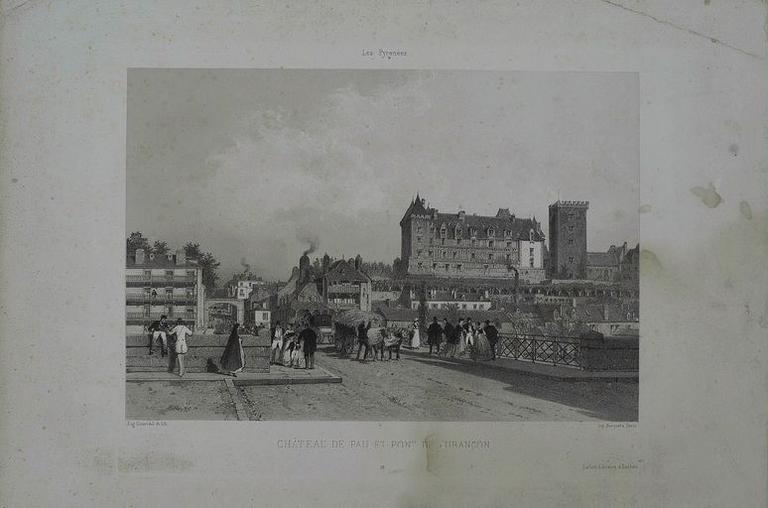 Château de Pau et pont de Jurançon_0