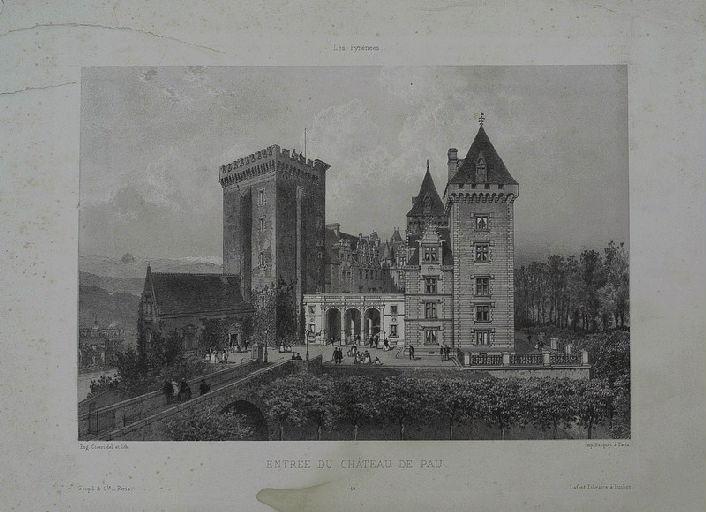 Entrée du Château de Pau_0