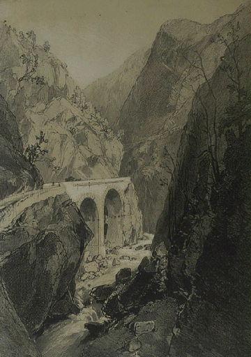 Route aux Eaux Chaudes Pyrénées