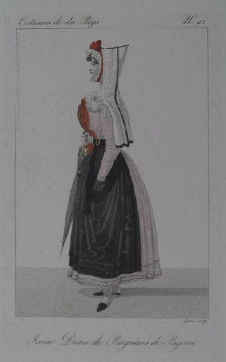 Jeune Dame de Bagnères de Bigorre_0