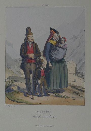 Pyrénées, Une famille de Barrèges._0