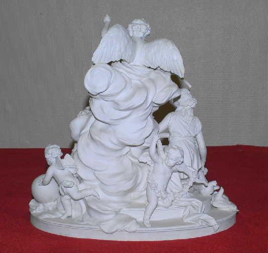 BOIZOT Simon Louis (sculpteur), manufacture nationale de Sèvres : L'Amour et la Fidélité