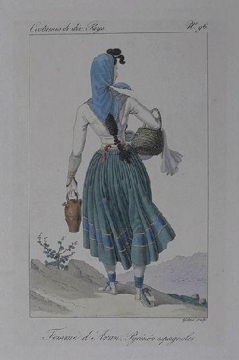 Femme d'Aran, Pyrénées espagnoles._0