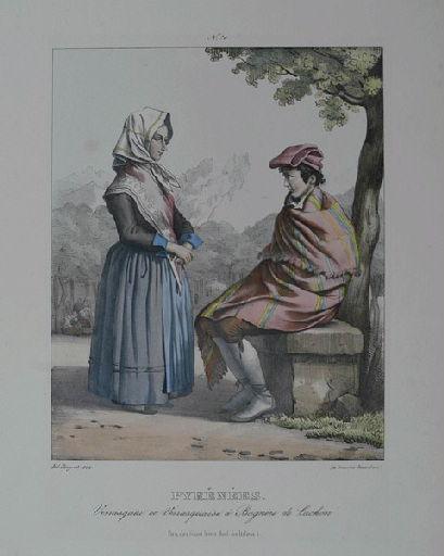 Pyrénées : venasquai et venasquaise à Bagnère de Luchon_0