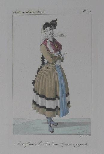 Jeune femme de Bucharo, Pyrénées espagnoles._0
