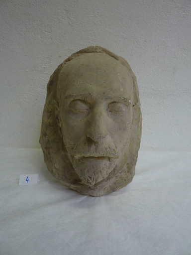 Masque mortuaire du sculpteur Etcheto_0