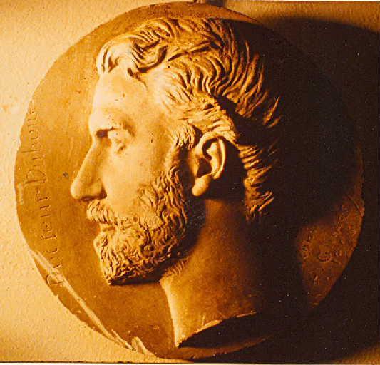 GUMERY Alphonse : Portrait du Dr Duboué, de profil gauche