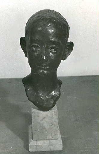 Buste de Pierre Lafond, enfant_0