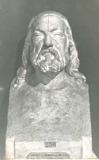 Buste de Théophile Gautier