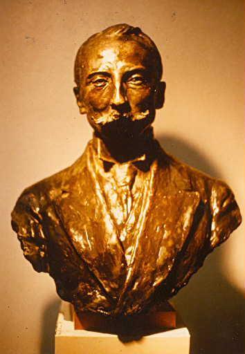 PAULIN Paul : Buste de Léon Bérard
