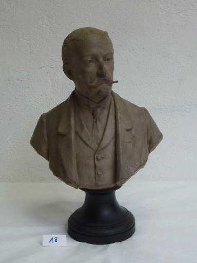 MILLET DE MARCILLY Edouard François : Buste d'homme