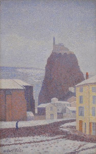Saint Michel d'Aiguilhe sous la neige_0