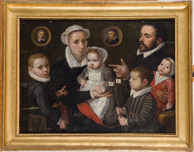 FRANCKEN Ambrosius le Vieux (attribué à, ?) : Portrait de famille
