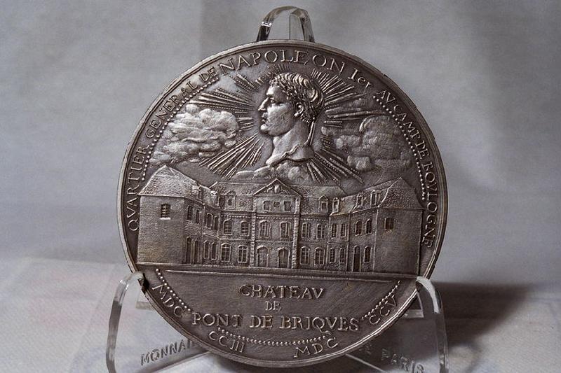 AMMANN J C : Napoléon au château de Pont-de-Briques