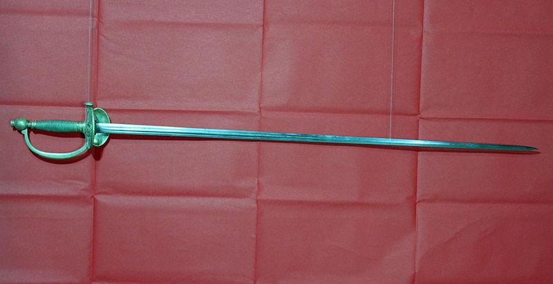 anonyme (manufacture) : épée, fourreau