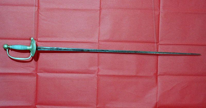 anonyme (manufacture) : épée