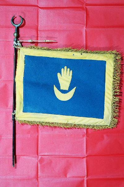 anonyme (fabrique) : Fanion du 12e régiment de Tirailleurs tunisiens