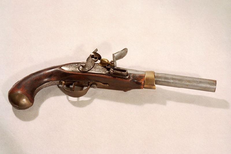 manufacture indéterminée (manufacture) : pistolet à silex