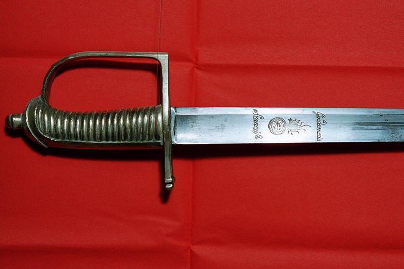 manufacture indéterminée (manufacture) : sabre, fourreau