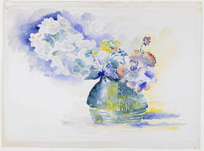 Bouquet de fleurs dans un pot_0