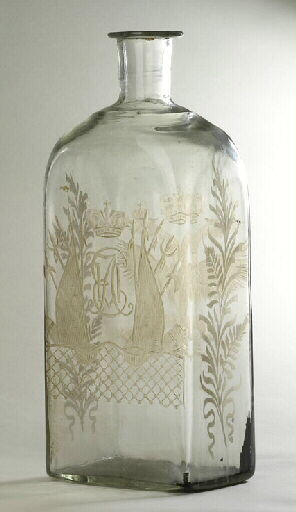 ORLOV F G (fabrique, verrier) : bouteille, ensemble