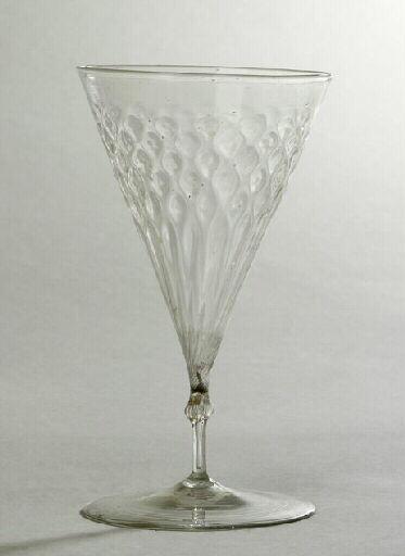 anonyme (verrier) : verre (à pied, 6), ensemble