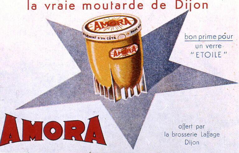 Amora, la vraie moutarde de Dijon