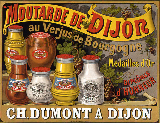 Moutarde de Dijon Charles Dumont