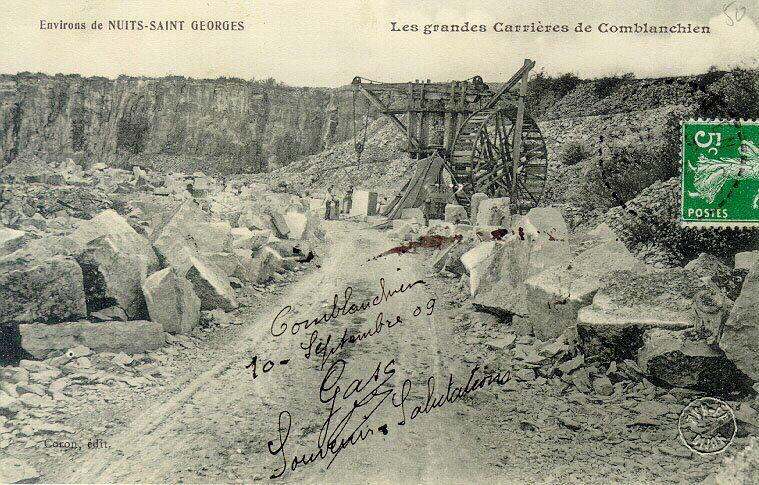 Environs de Nuits-Saint-Georges - carrières de Comblanchien