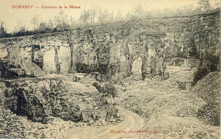 DESVIGNES (photographe), DESVIGNES (éditeur) : Dornecy - carrières de la Manse