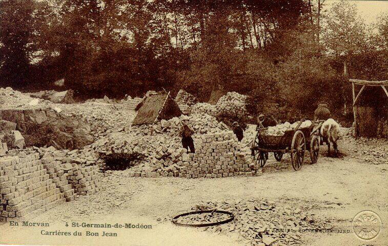 Saint-Germain-de-Modéon - carrière du Bon Jean
