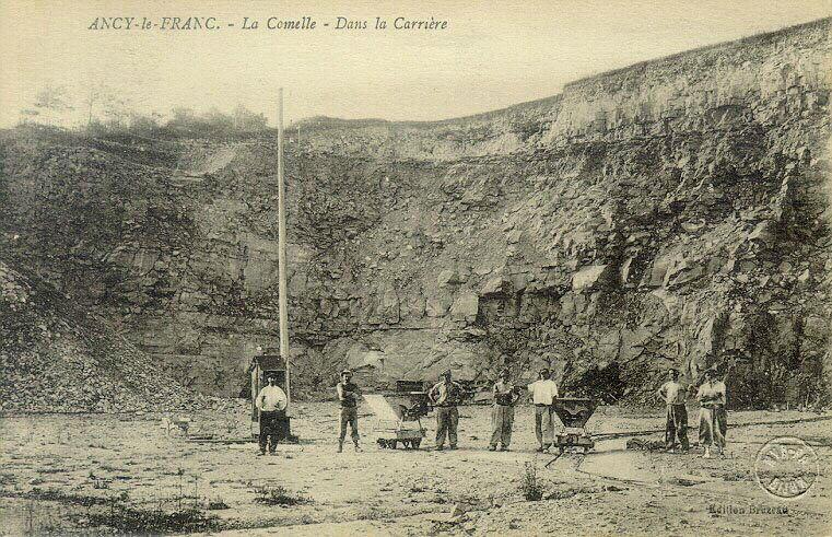 Ancy-le-Franc - La Comelle - Dans la carrière_0