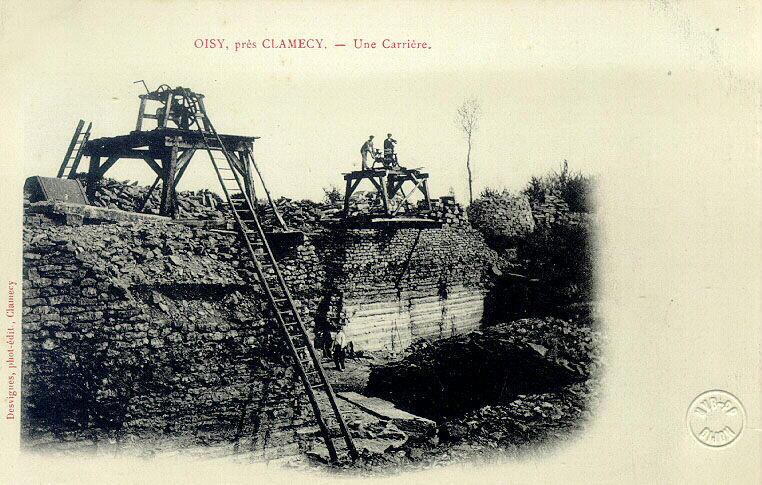 Oisy près Clamecy - carrière