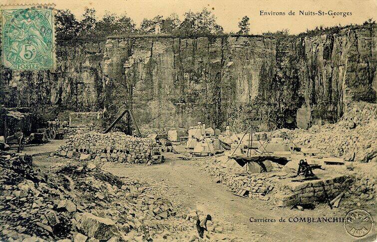 Environs de Nuits-Saint-Georges - carrières de Comblanchien_0
