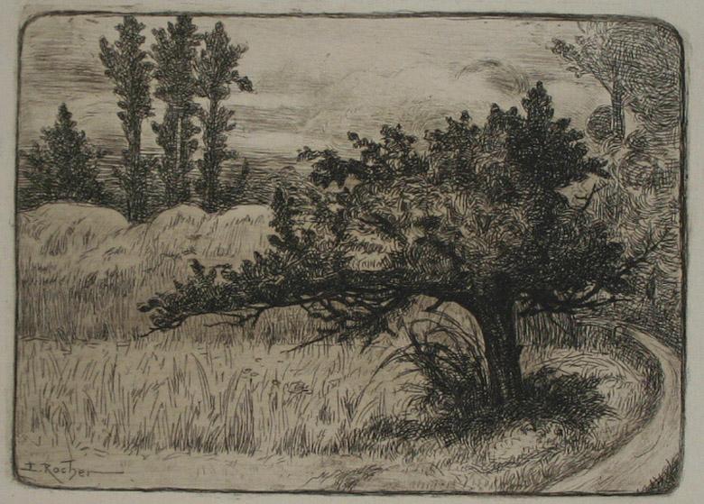 Paysage avec un arbre (arbre au premier plan)_0