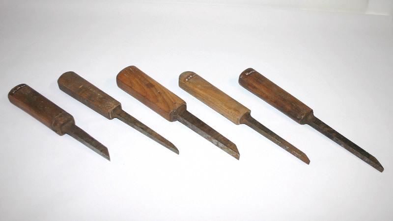 anonyme : ciseau à bois, bédane