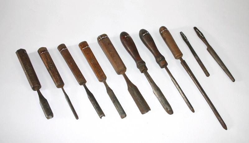 SORBY I & H (fabricant) : ciseau à bois, gouge