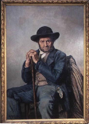 Le père Jean Gelé (Vieux paysan Nivernais)_0