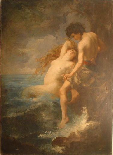Le pêcheur (inscrit 'Sirène' sur fiche Mohler)