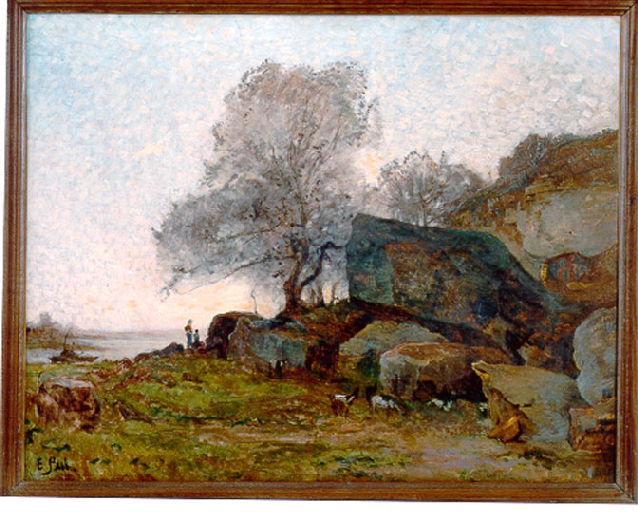 La carrière de ciment (Environs de Nevers, route des Saulaies)_0