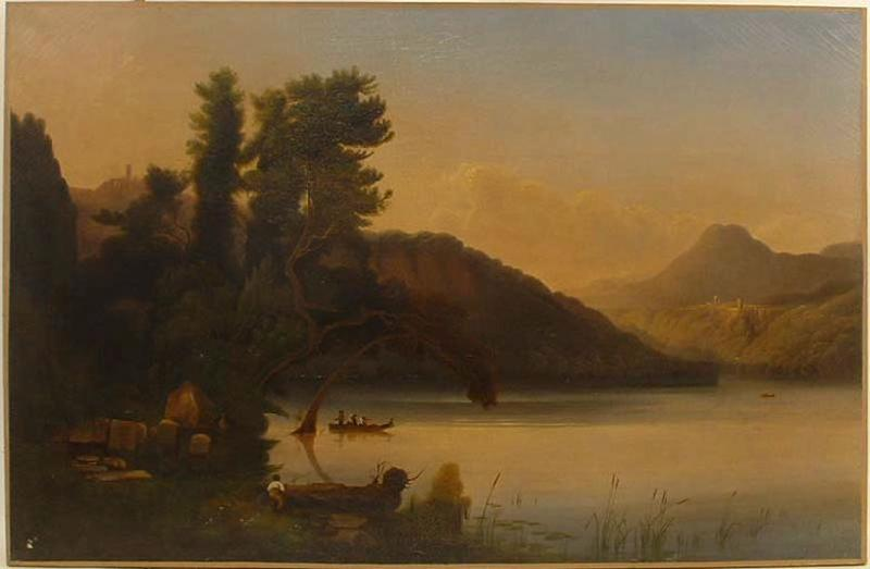 Le lac de Nemi ; Lac d'Albano (autre titre)