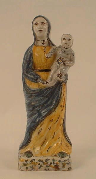 manufacture indéterminée : Vierge à l'Enfant