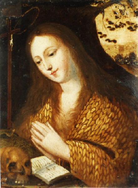 Sainte Madeleine ; Sainte en prière (autre titre)_0