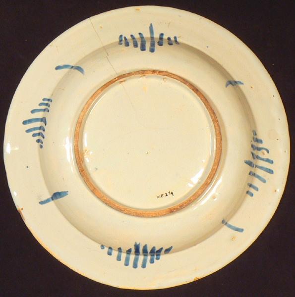 PERELLE Gabriel (d'après, graveur), manufacture indéterminée : plat (rond)