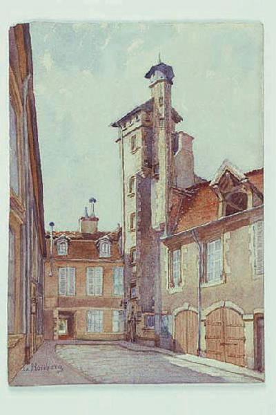 Cour de l'Hôtel de Maumigny ; hôtel de Verneuil (autre titre)_0