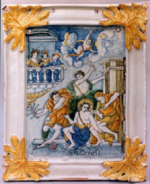 Légende de saint Genest, saint patron des comédiens