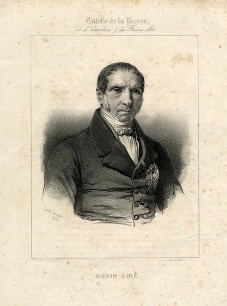 LASALLE Emile (graveur), AUBERT & Cie (imprimeur) : Monsieur Dupin aîné