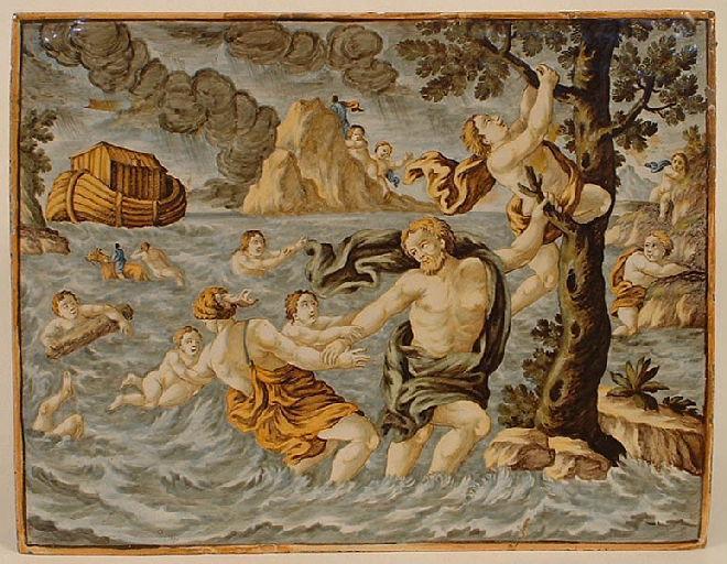 Le déluge et l'Arche de Noé_0