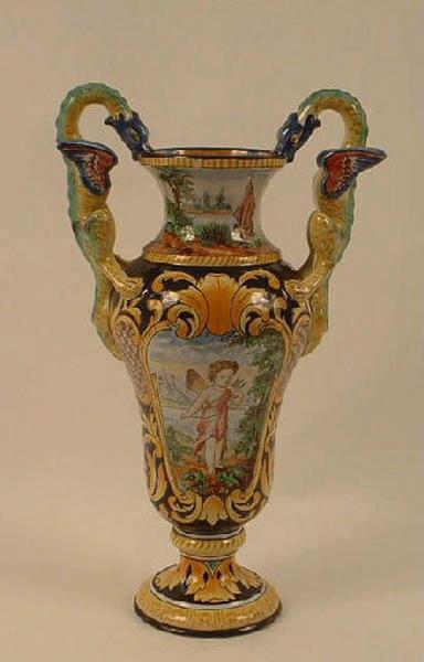 Vase (à anses, historié), paire, élément d'ensemble_0